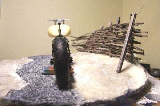 Winter-Diorama