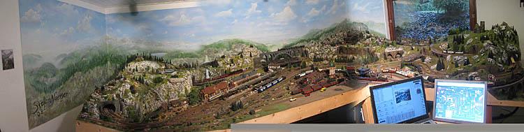 ein Panorama der ganzen Anlage