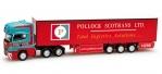 Scania R '09 TL Gardinenplanen-Sattelzug *Pollock Scotrans LTD.*